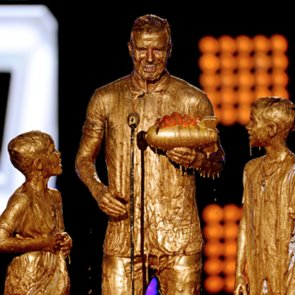 Celebrities At 2014 Kids' Choice Sport Awards David Beckham