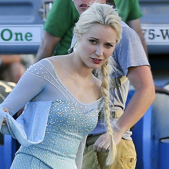 Georgina Haig as Frozen's Elsa On Once Upon A Time