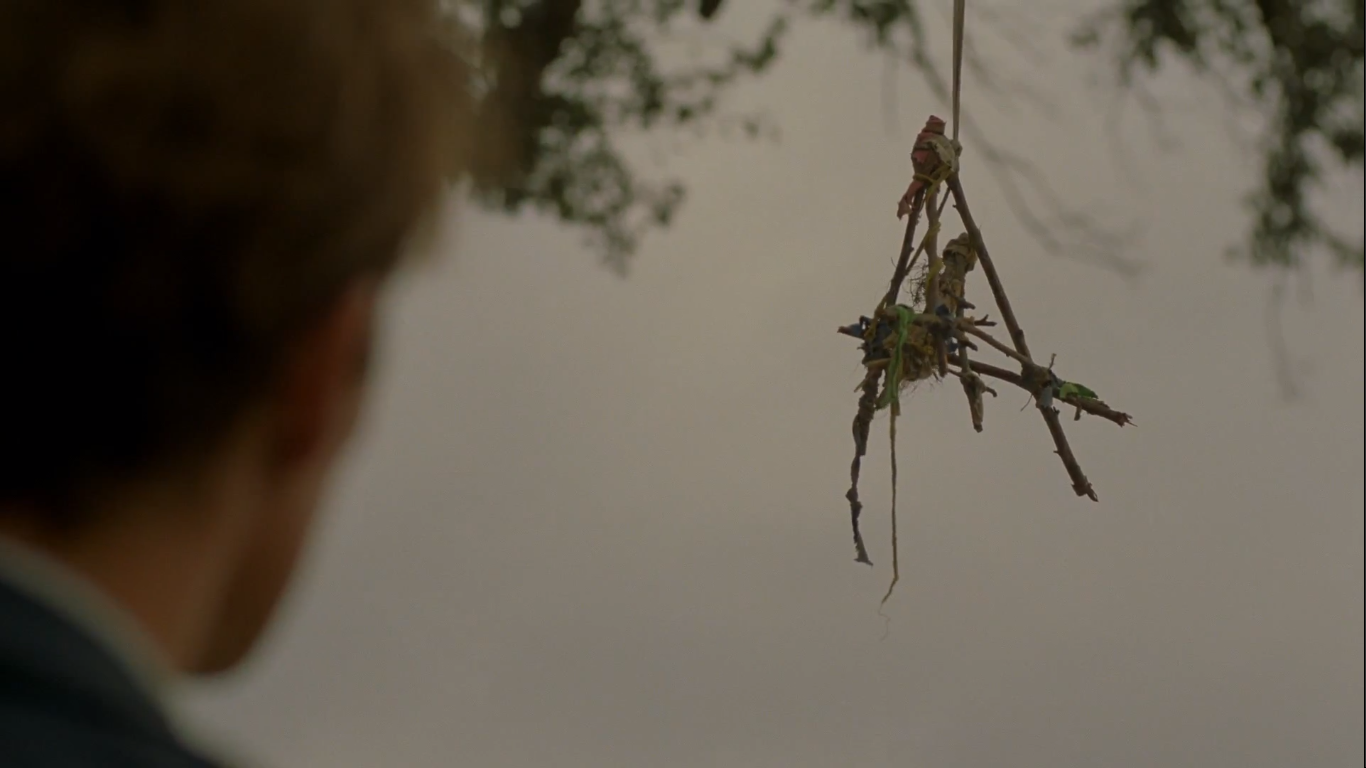 Best Use of Tied-Together Sticks: True Detective