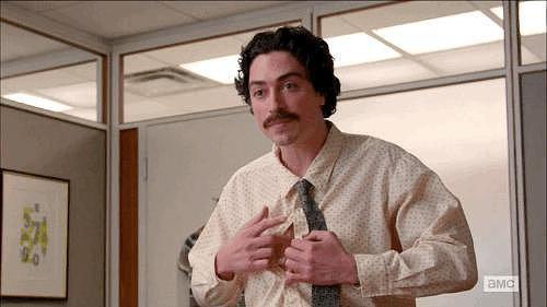 Best Performance by a Nipple: Ben Feldman, Mad Men