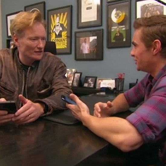Dave Franco and Conan O'Brien Tinder Together   Video