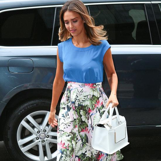Celebrity Summer Trend Floral Skirts   Video