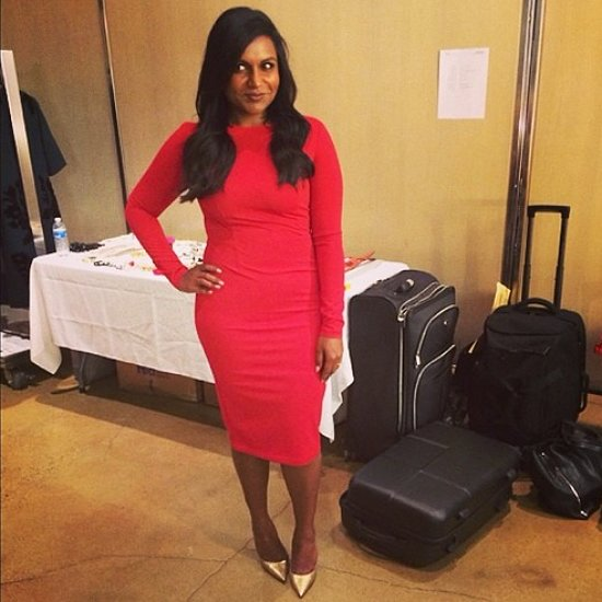 Mindy Kaling Posts Book Cover Outfits on Instagram