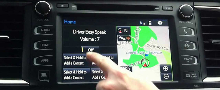 Toyota's Newest Feature Lets Parents Yell at Kids Without Raising Their Voices