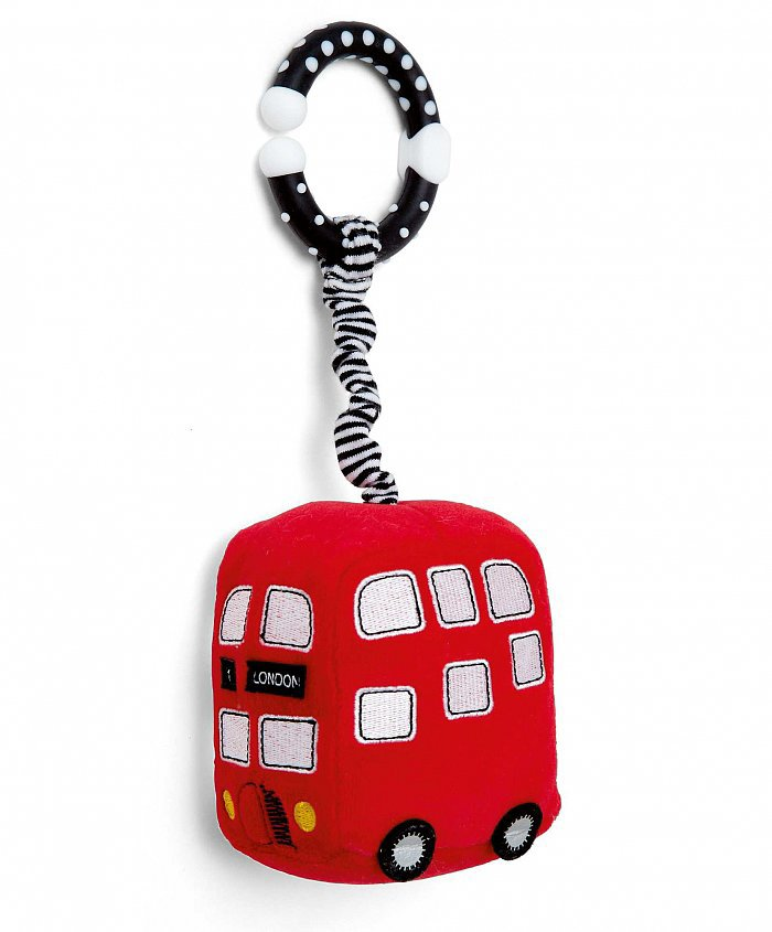 Every tot needs a toy to play with on their push chair, and Mamas and Papas' London Bus Stroller Toy ($13) is the perfect addition for your mini Anglophile.
