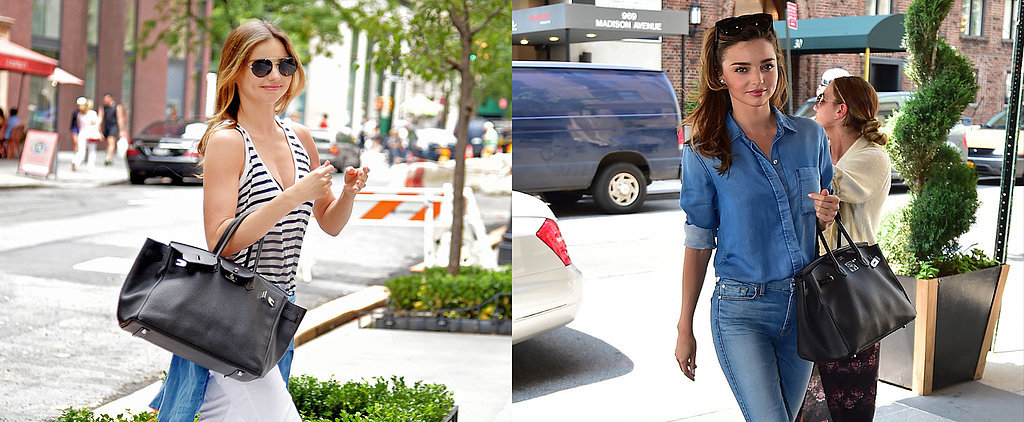 Miranda Kerr's Not Afraid to Wear the Same Thing Twice