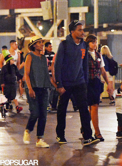 Kerry Washington Holds Hands With Her Husband at Disneyland