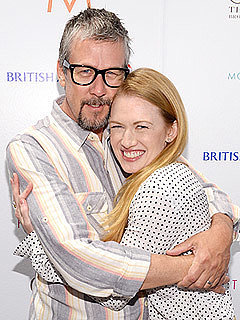 It's a Boy for Alan Ruck and Mireille Enos