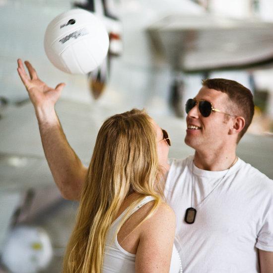Top Gun Engagement Photos