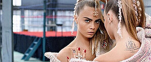 Watch Cara and Karl Behind the Scenes For Chanel