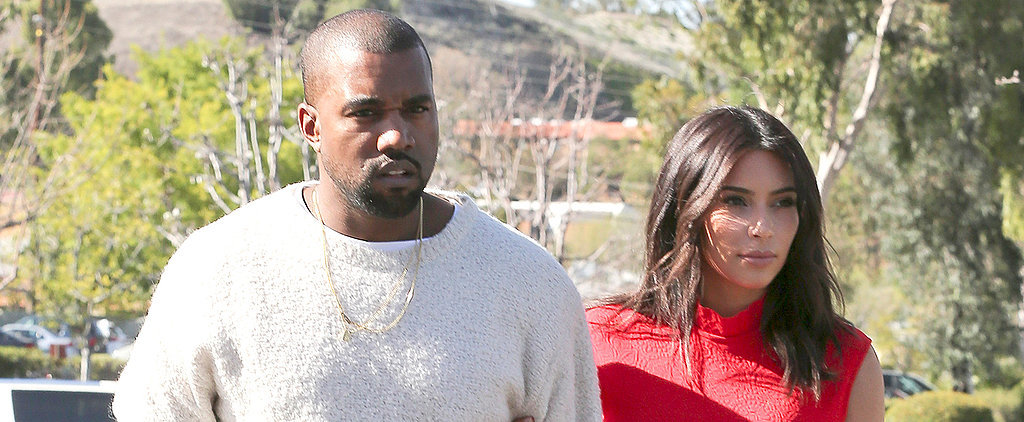 It Was a Big Day For Kim Kardashian and Kanye West
