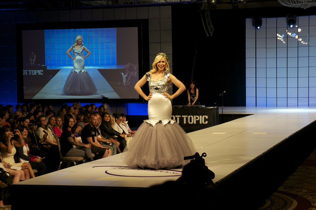 2. Ashley Eckstein's Totoro Dress