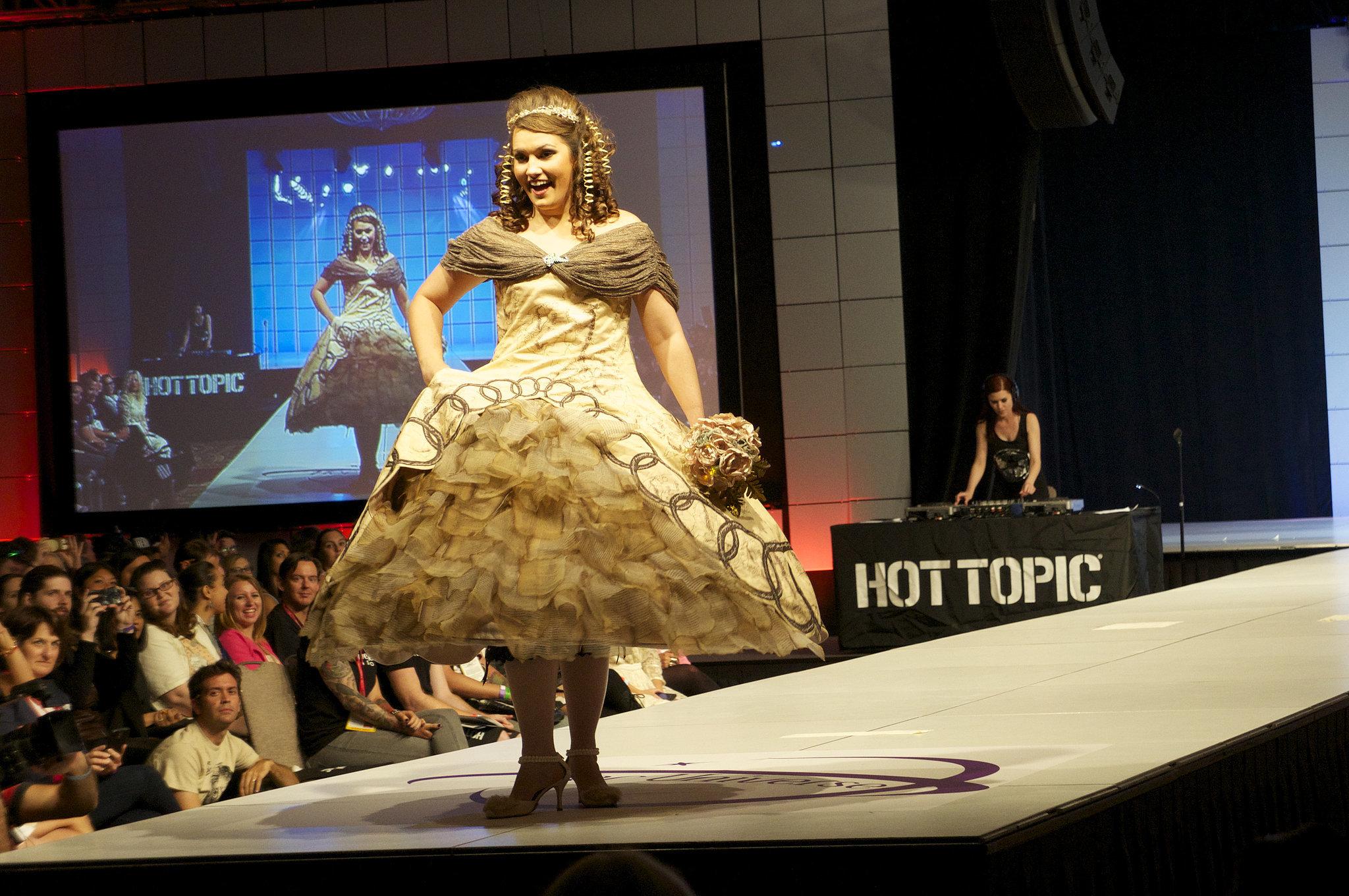 16. The Hobbit Wedding Dress
