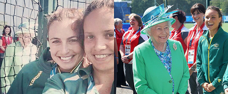 The Queen Just Photobombed Two Girls, Because She Can