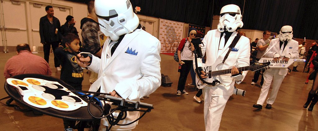 #ComicConBands: Hilarious Geeky Musical Group Mashups