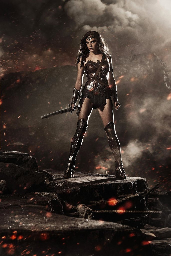 Snyder shared the first picture of Gal Gadot as Wonder Woman during Comic-Con.
