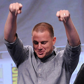 Channing Tatum Sings Just a Friend at Comic-Con 2014   Video