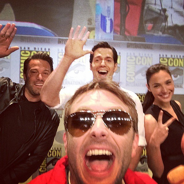 Chris Hardwick is often in the right place for a star-studded selfie, like the time he was all-too-thrilled to nab one with Ben Affleck, Henry Cavill, and Gal Gadot at the Batman v Superman: Dawn of Justice panel at Comic-Con in 2014.