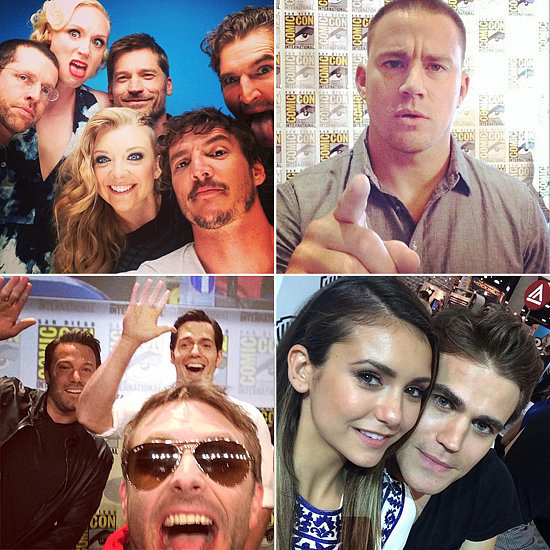 21 Celebrity Instagrams That Take You Inside Comic-Con