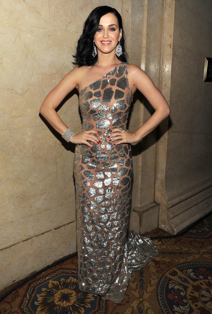 Katy Perry at the 2013 UNICEF Snowflake Ball