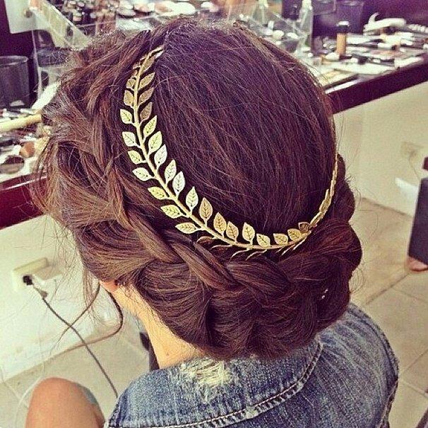 Gilded Crown Braid