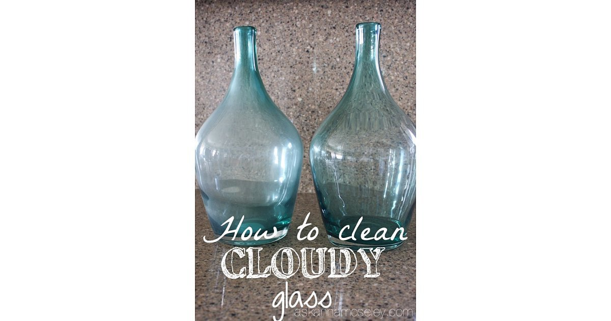 Cleaning Cloudy Wine Glasses