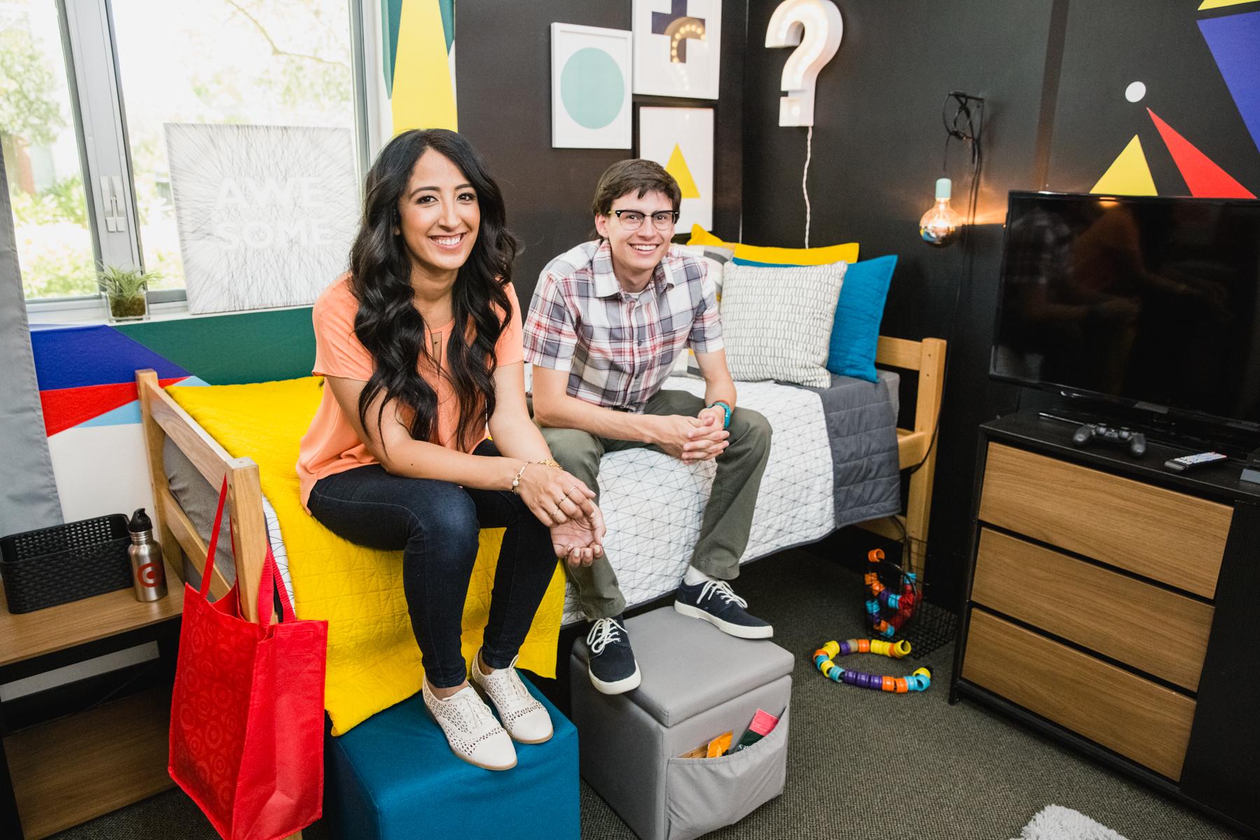Designer Veronica Valencia and Gamer Nolan