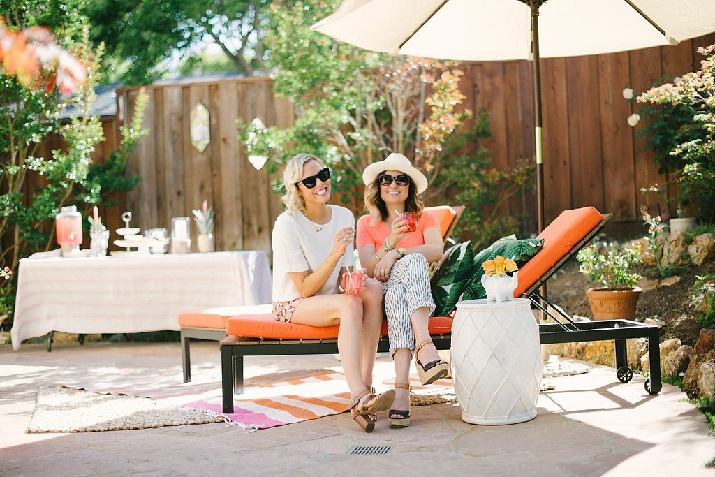 Emily and Angela's Outdoor Entertaining Tips. . .