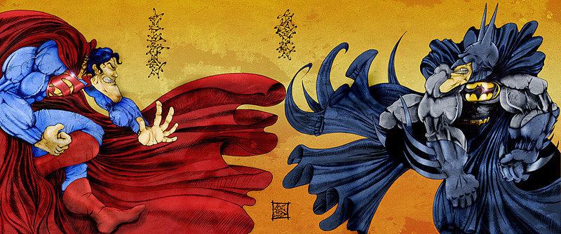 """Superman vs. Batman,"" Mark Richmond"
