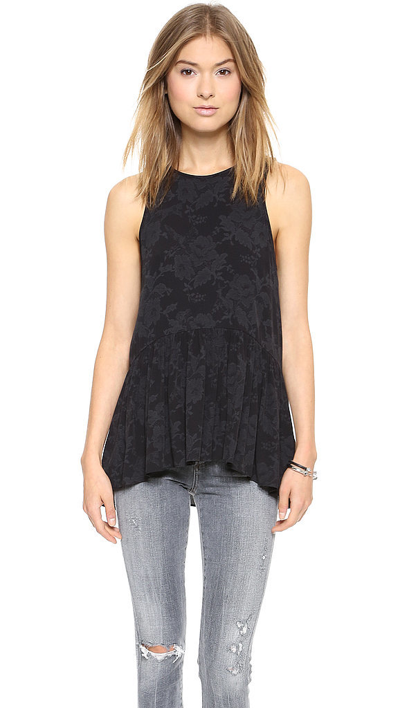 Tibi Tapestry Top