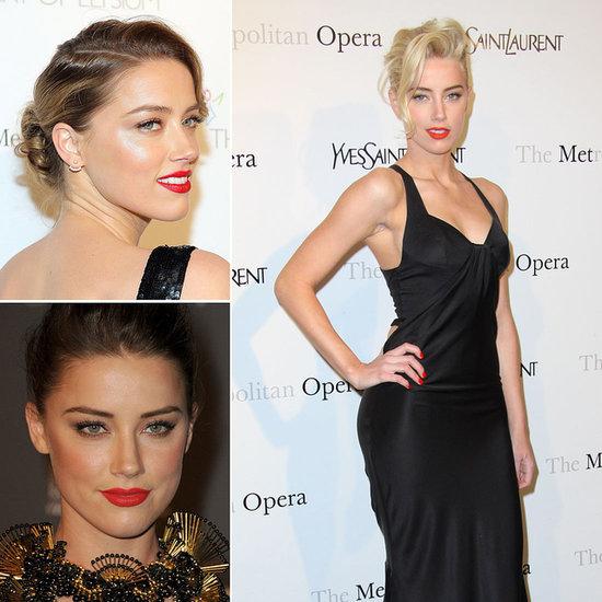 Amber Heard Beauty Evolution