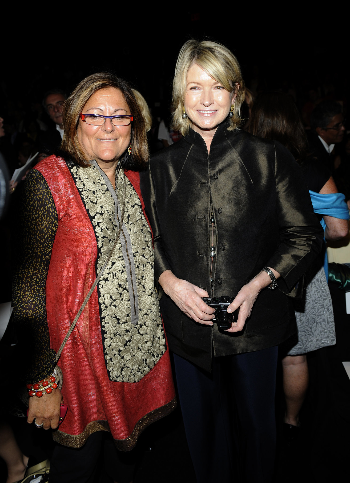 8. When She Was Front Row With Fern Mallis