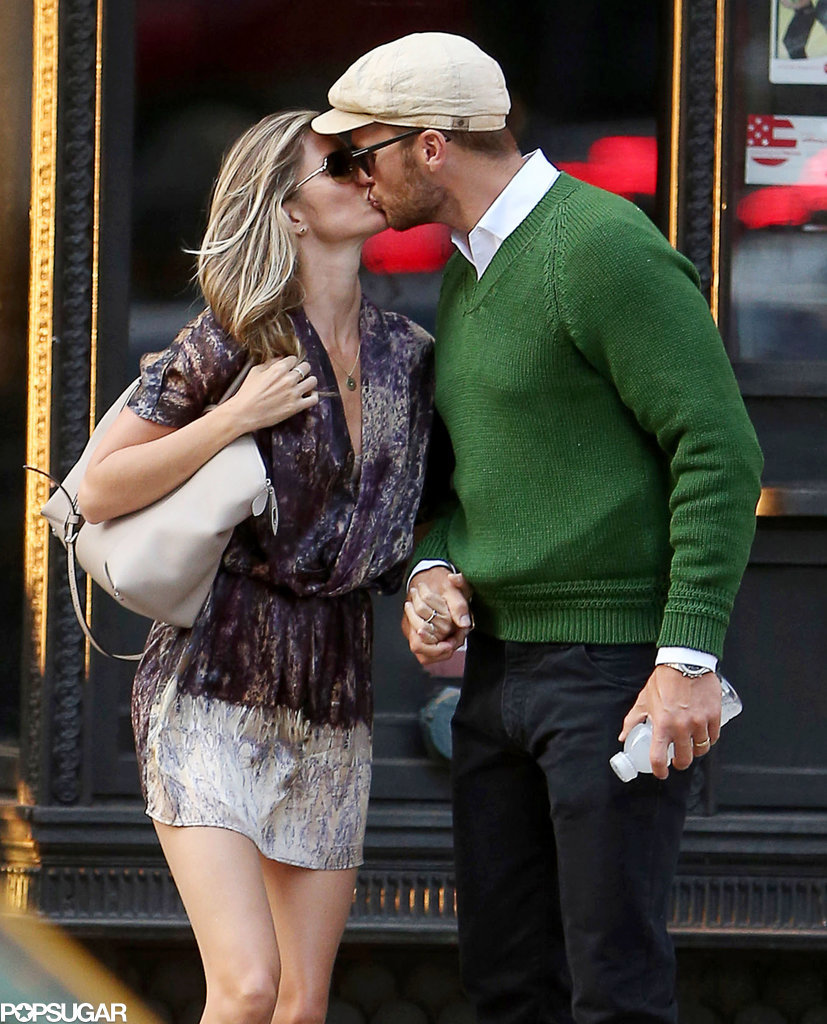 Gisele and Tom looked they were in a magazine spread when they shared a passionate kiss in NYC in June 2014.