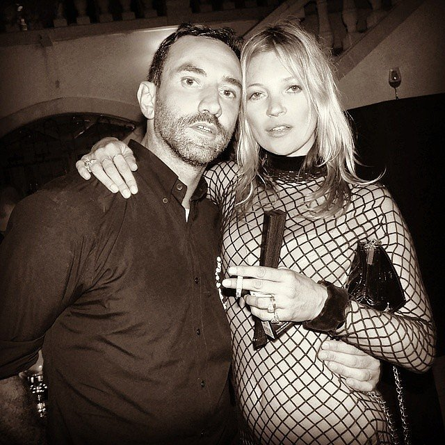 Kate scored some one-on-one time with the birthday boy, Riccardo. Source: Instagram user kimkardashian