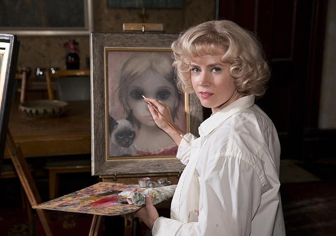 Amy Adams as Margaret Keane.