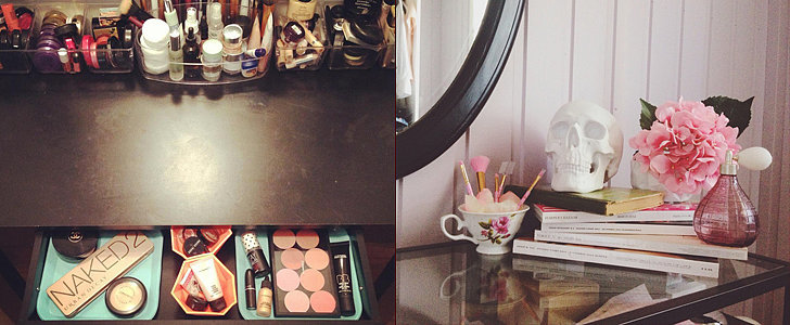 17 Real-Girl Secrets to a More Organised Vanity in 2015