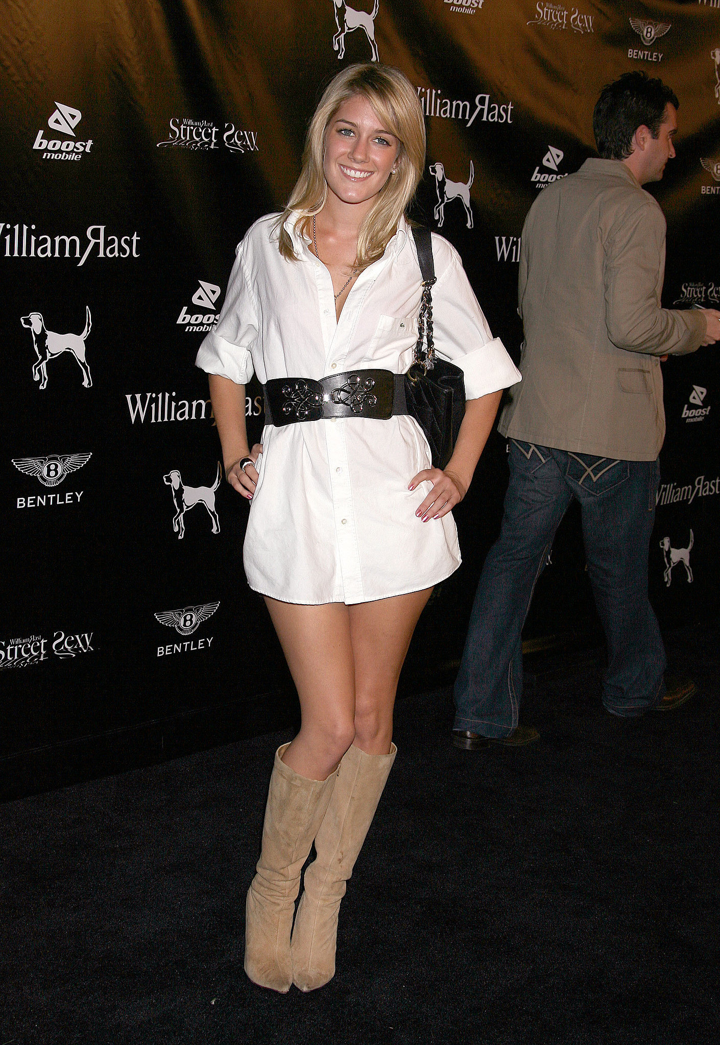 Heidi channeled Risky Business-meets-Wild Wild West.