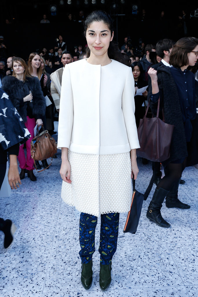 Caroline Issa at the Chloé Fall 2013 Runway Show