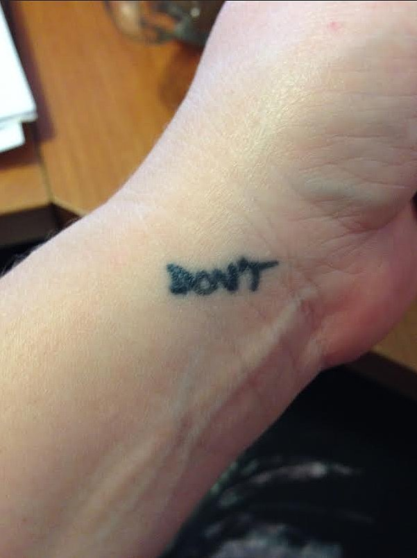 """""""Don't"""""""
