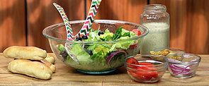 Re-Create Olive Garden's Salad and Breadsticks at Home