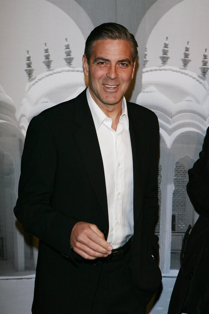 George Clooney at Armani Privé's 2007 Oscars Party