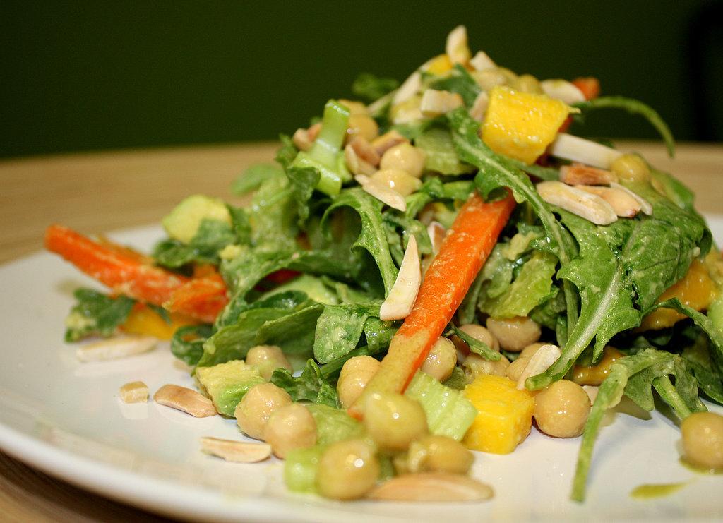 Avocado Wasabi Chickpea Salad