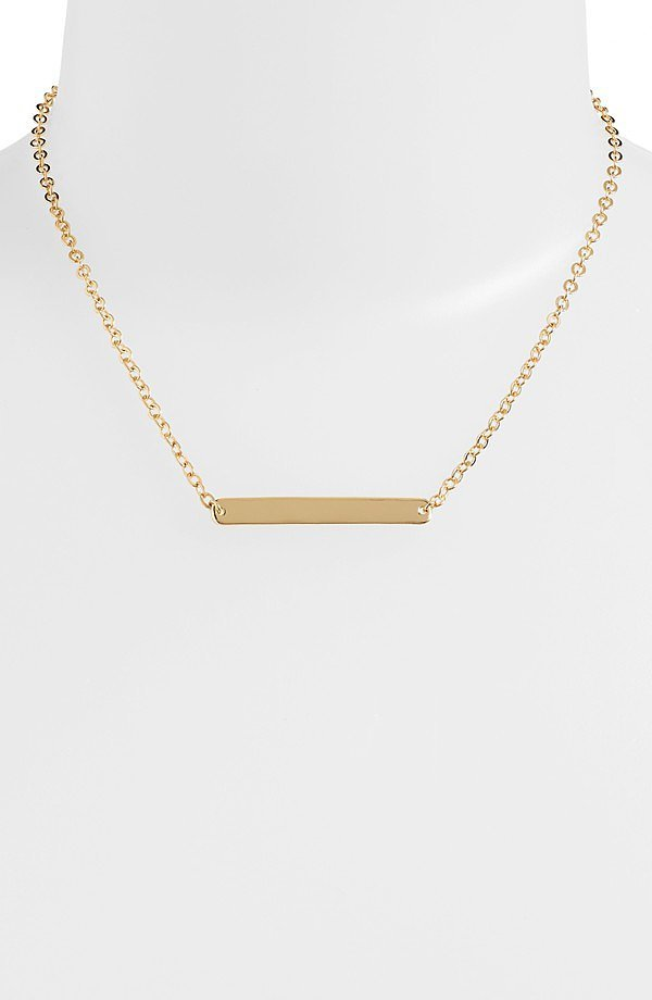 Nordstrom Bar Pendant Necklace