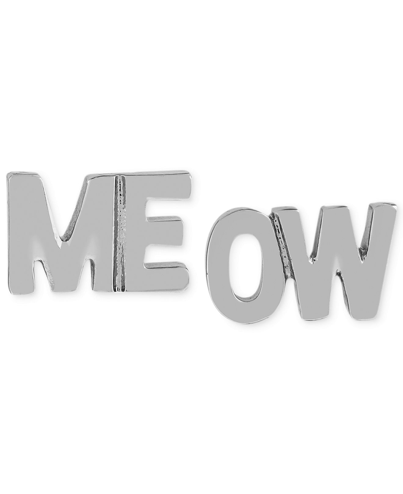 BCBGeneration Meow Stud Earrings