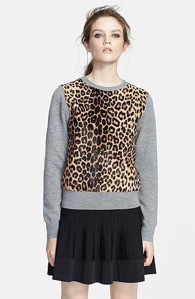A.L.C. Leopard Print Sweater