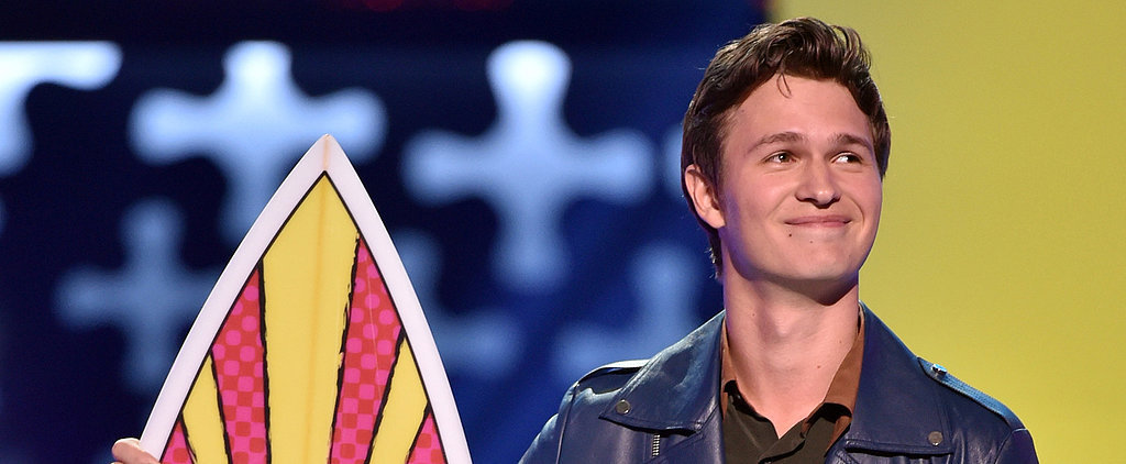 Ansel Elgort Will Melt Your Heart With His Serious Teen Choice Awards Speech