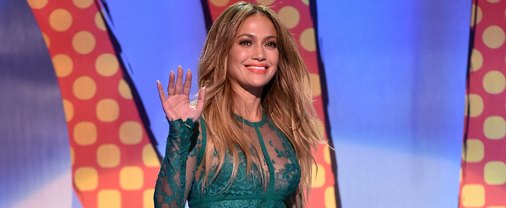 Jennifer Lopez Stuns at the Teen Choice Awards
