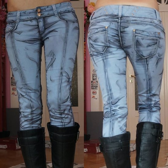 Comic Jeans