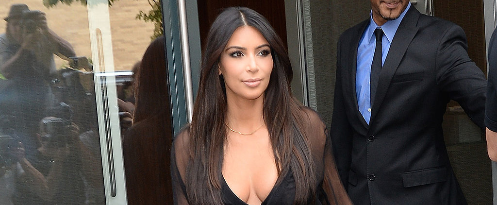 Kim Kardashian Is the Queen of the Outfit Mullet