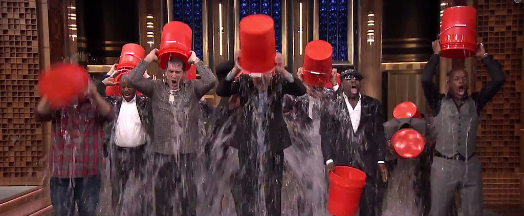Jimmy Fallon Responds to Justin Timberlake's Ice Bucket Challenge